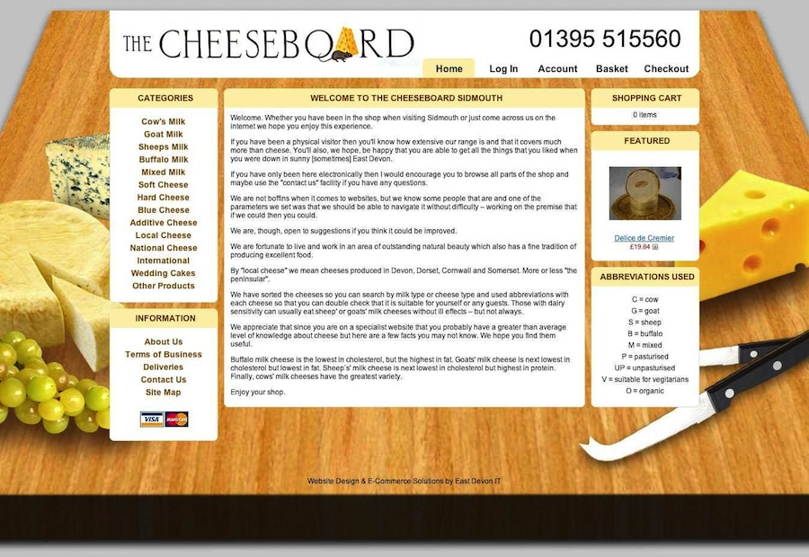 The Cheeseboard Sidmouth